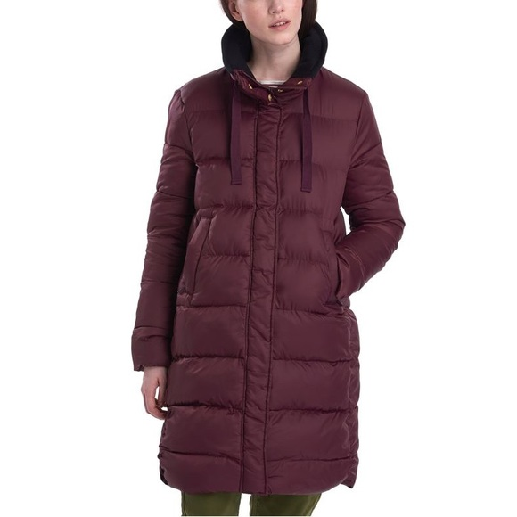 barbour puffer jacket